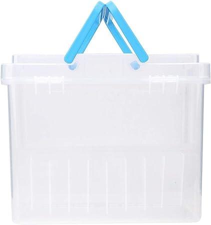 HEEPDD Estuche Marcador, Contenedor de plástico Transparente a Prueba de Agua Contenedor portátil Estuche rotulador para Marcador Marcadores de Pintura de Color de borrado en seco(60 Ranuras): Amazon.es: Hogar
