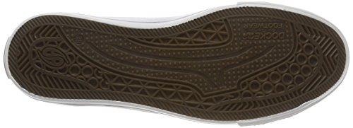 Dockers by Gerli Unisex-Kinder 40ci601-710500 Sneaker Weiß (Weiss 500)