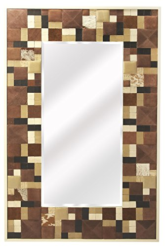 Butler Specialty Company 6161350 Wall Mirror Gagne Hair-on-Hide by Butler Specialty Company