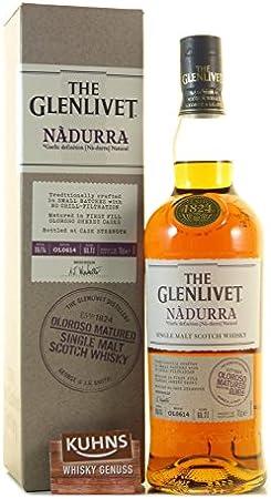 Glenlivet Nadurra Oloroso Sherry Cask Single Malt Scotch Whisky - 1000 ml