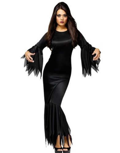 FunWorld Madam Morticia, Black, One Size Costume