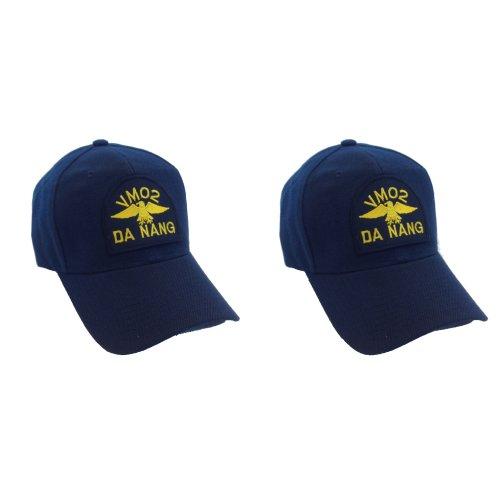 [2 Pack Magnum PI Hat Ball Cap VM02 Da Nang] (Magnum Pi Costume Accessories)