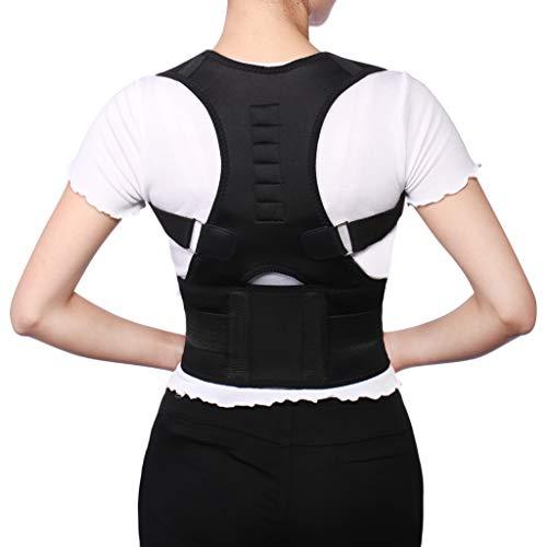 Back Belt Adjustable Posture Corrector Magnetic Position Correction Brace Support