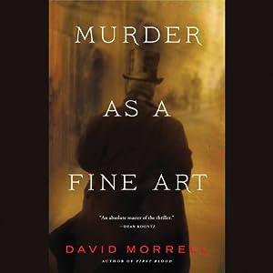 Murder as a Fine Art Audiobook