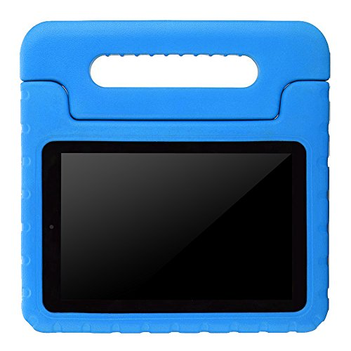 : AVAWO Kids Case for Fire 7 2017 - Light Weight Shock Proof Handle Kid-Proof Case for Fire 7 inch Display Tablet (7th Generation - 2017 Release), Blue