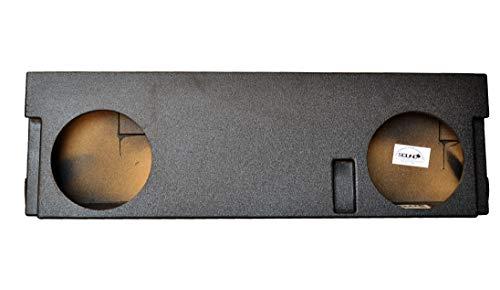 SoundBox Tundra CrewMax 2014-2017 Dual 12″ Subwoofer Enclosure, BedLiner