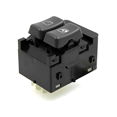Electric Left Driver - uxcell 15728438 SD-000131 Front Left Driver Side Electric Master Power Window Control Switch for 1996-2000 Chevrolet Express