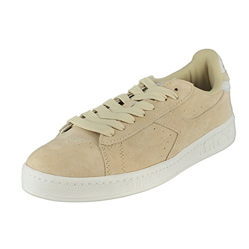 Diadora Game Low S, Beige Bleached, 7.5 M US by Diadora