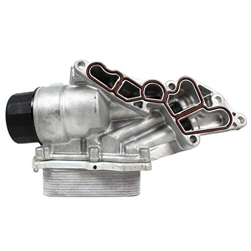 Fits 06-12 MERCEDES-BENZ 2.5L / 3.0L / 3.5L / 4.6L / 5.5L BRAND NEW ENGINE OIL FILTER HOUSING W/COOLER (Oil Cooler Mercedes)