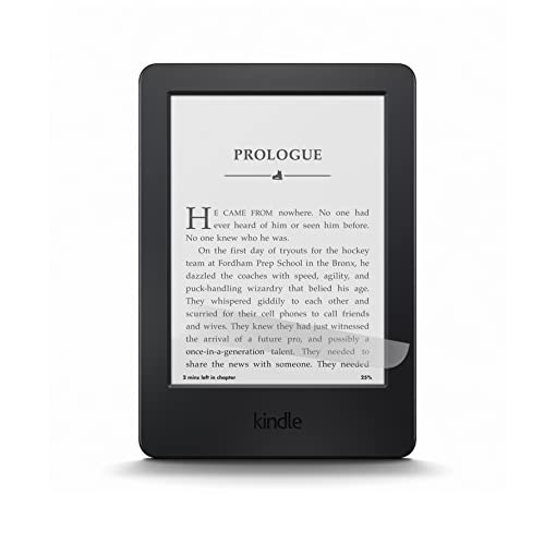 NuPro Anti-Glare Screen Protector for Kindle and Kindle Paperwhite, 3-Pack — Not compatible with 10th Generation (2019 Release)