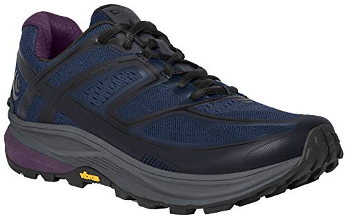 Topo Athletic Ultraventure Trail Running Shoe - Women's Navy/Plum, 9.5 (Navy Plum)