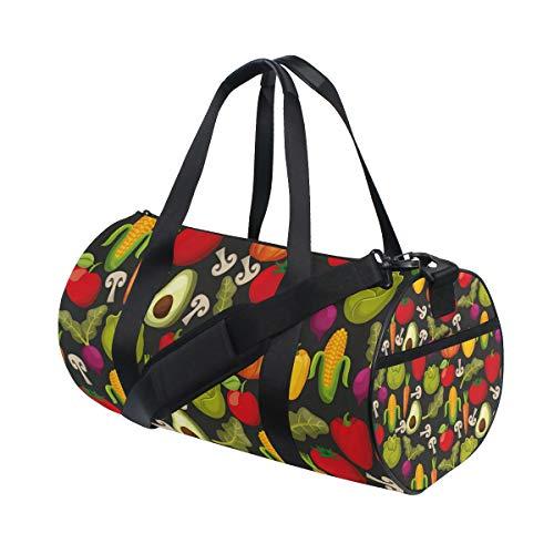 Waterproof Non-Slip Wearable Crossbody Bag fitness bag Shoulder Bag Vegetable Halloween -