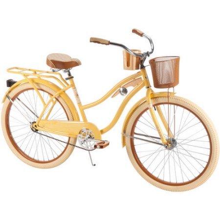 26'' Huffy Nel Lusso Women's Cruiser Bike, Yellow by Huffy (Image #4)