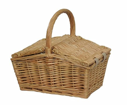 Small Double Lidded Picnic Basket