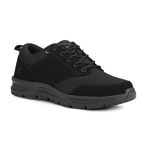 Emeril Lagasse Men's Quarter Mesh Slip-Resistant Shoe, Black, 11.5 W US