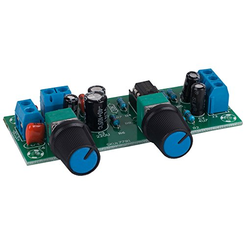 Parts Express Variable Low Pass Filter Electronic Subwoofer Crossover Preamp Board with Gain Control