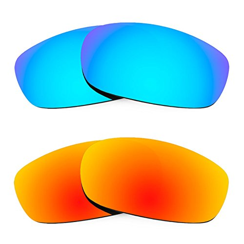 Revant Replacement Lenses for Oakley Square Wire 2.0 2 Pair Combo Pack - Oakley Square Lenses Polarized 2.0 Wire