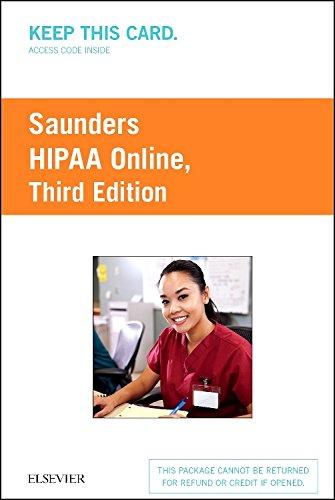 HIPAA Online (Access Card), 3e