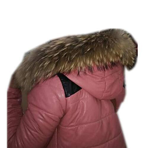 Gegefur The real raccoon fur collar, warm winter coat, fur collar and women without fur collar (7012cm, ()