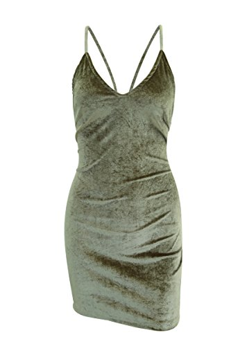 Doramode-Womens-Spaghetti-Strap-Bodycon-Sleeveless-Backless-Velvet-Sexy-Short-Club-Dress