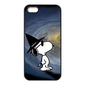 TOPPEST Case for iPhone 5s,Cover for iPhone 5s,Case for iPhone 5,Hard Case for iPhone 5s,Cover for iPhone 5,Snoopy Design TPU Hard Case for Apple iPhone 5 5S