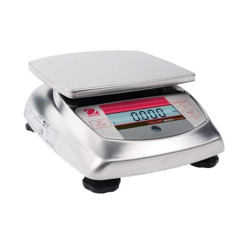 Ohaus Valor Stainless Steel Xtreme Compact Precision Scale 6000g x 1g [並行輸入品] B07N8C7JZM