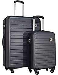 Revelation! Dominica 2-Piece Expandable Upright Hardside Spinner Luggage Set: 31 and 22