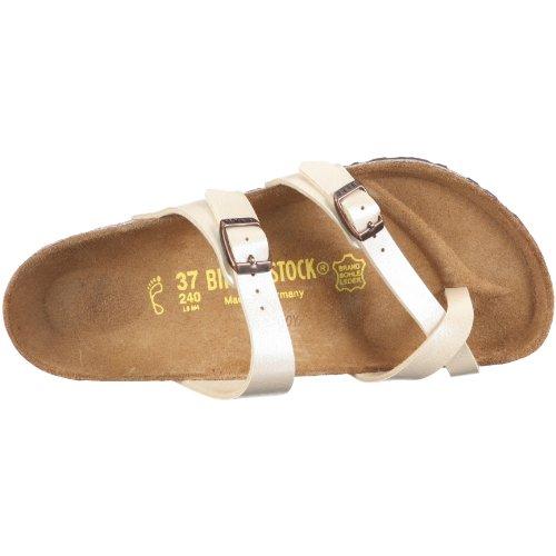 Birkenstock MAYARI  BF GRACEFUL 71611 - Sandalias de vestir para mujer Blanco (Graceful Pearl White)