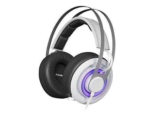 SteelSeries Siberia 650 Gaming Headset – White (formerly Siberia Elite Prism)