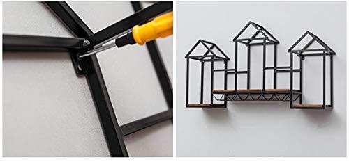 Z-BG Estante de Pared con Forma de Cubo para la Habitación ...