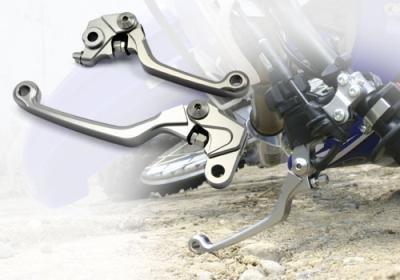 FXCNC Racing CNC Aluminum Dirt Bike Pivot Brake Clutch Lever Set for Honda CRF 150F 150 230F 230 CRF150F CRF230F 2003-2017 Red by Rzmmotor (Image #7)