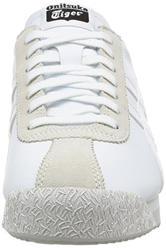 Gymnastikschuhe Erwachsene Asics Unisex White White Corsair Tiger Elfenbein w7wHpI