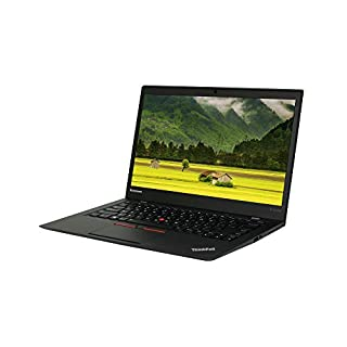 Lenovo ThinkPad X1 Carbon 14in FHD Laptop, Core i5-5300U 2.3GHz, 8GB RAM, 256GB Solid State Drive, Win10P64, CAM, NO_Touch (Renewed)