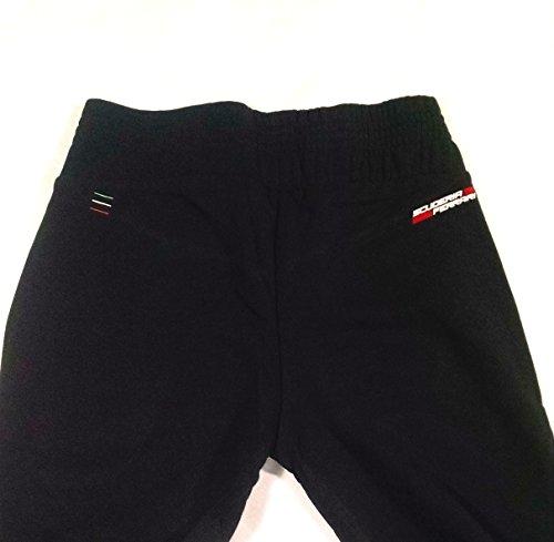 Ferrari Pantalon de Jogging/Womens pour fille, Sweat-shirt Pantalon, noir