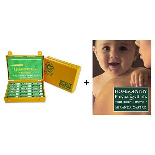 Childbirth Homeopathic Kit and Book - Mother and Baby Pack