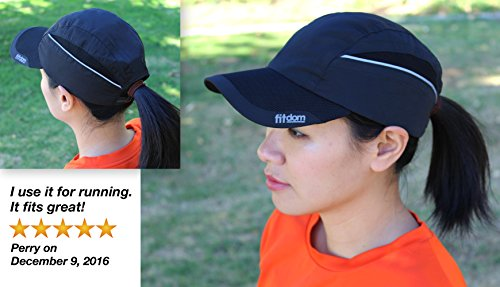 Fitdom Lightweight Sports Cap for Men and Women 0eaf8a2df5b