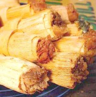 Sweet Cinnamon Raisin Apple Tamales - One Dozen (Texas Tamales)