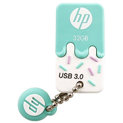 HP 32GB USB 3.0 Rubber Ice Cream Flash (Best Hp Thumb Drives)