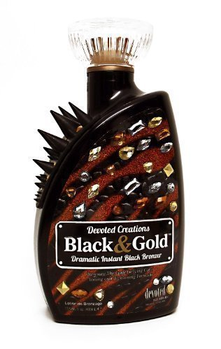 Devoted Creations BLACK & GOLD Instant Black Bronzer - 13.5 oz. by Devoted Creations