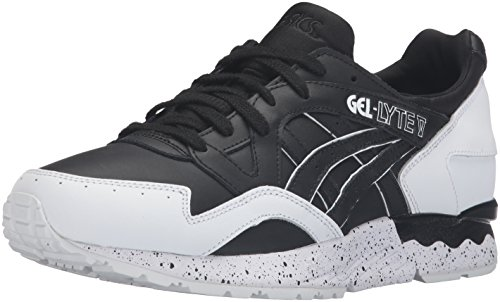 ASICS Men's Gel-Lyte V Fashion Sneaker, Black, 10 M US