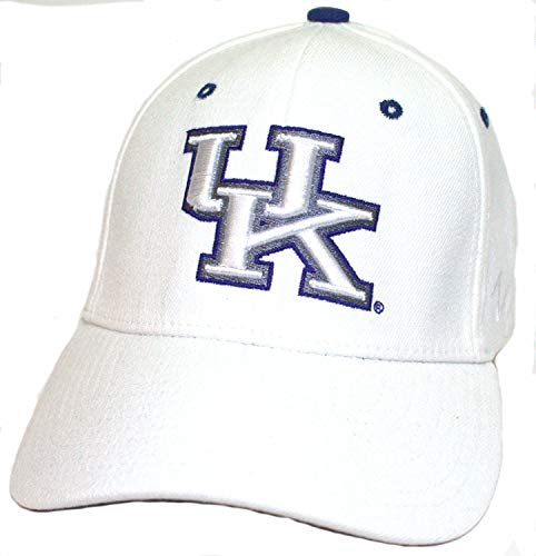 (ZHATS NCAA Officially Licensed Kentucky Wildcats (White) Hat Cap)