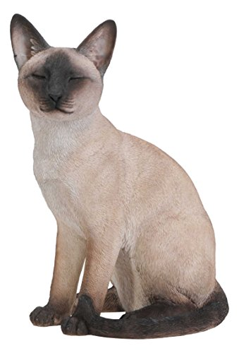 Cheap Hi-Line Gift Ltd Sitting Siamese Cat Statue