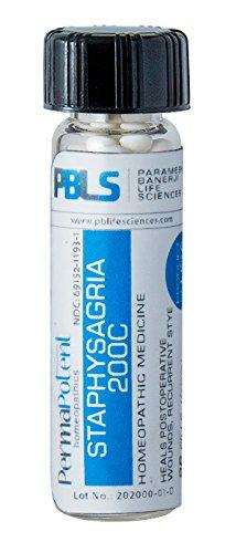Staphysagria 200C, 96 Pellets, Homeopathic Product by Par...