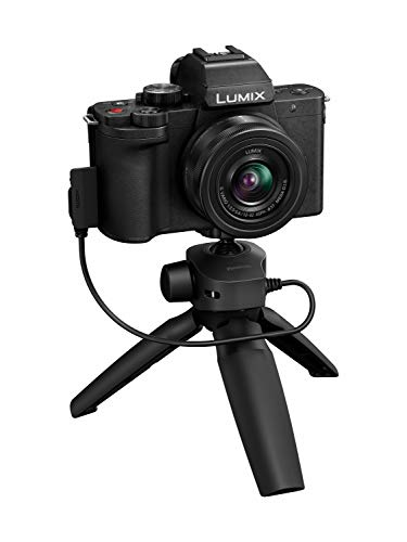 Panasonic LUMIX G100 4k Mirrorless Camera, Lightweight Camera for Photo and Video, Built-in Microphone, Micro Four…