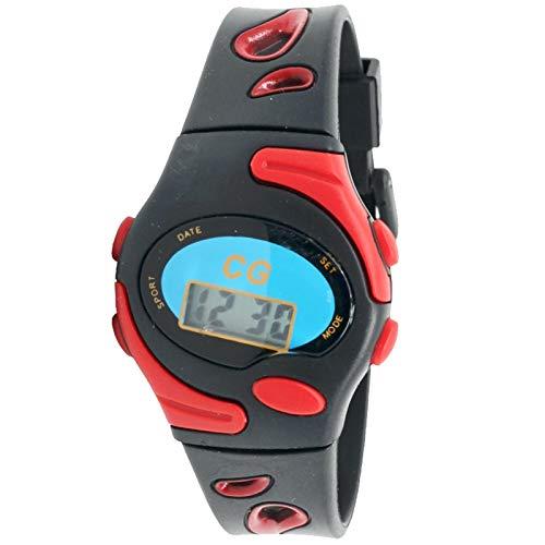 Christian Gar 415-r Reloj Digital para Niña/Niño Caja De Resina Esfera Color Rojo: Amazon.es: Relojes