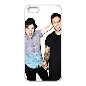 iPhone 5 5s Cell Phone Case White Fall out boy Q0304713