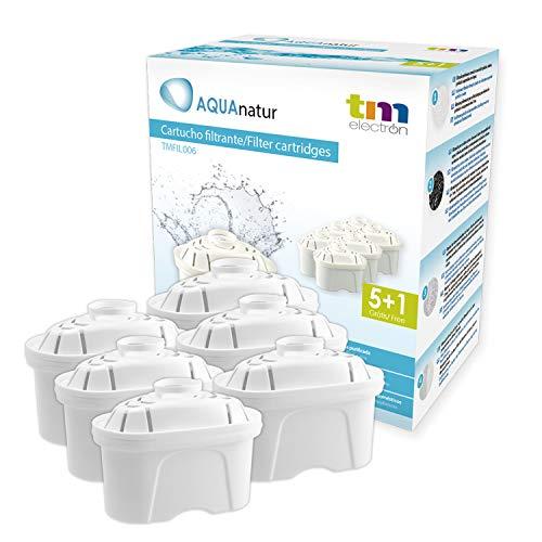 TM Electron Pack de 6 a 12 Meses de Filtros de Agua, Multicolor, 6 Unidades