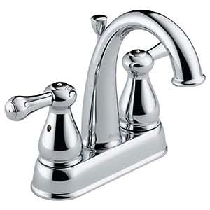 Delta Faucet 2575LF-MPU Leland, Two Handle Centerset ...