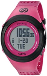 Soleus Unisex SG100611 GPS Fit 1.0 Pink and Black Watch