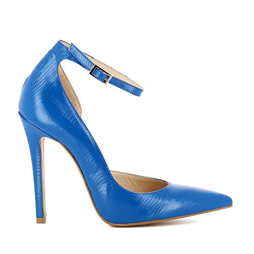 Evita Shoes Lisa - Zapatos de vestir de Piel para mujer Azul